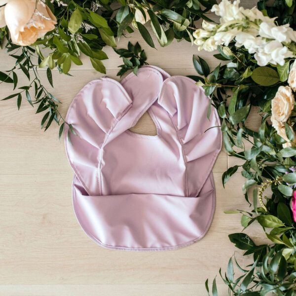 SHK Snuggle Bib Lavender 1