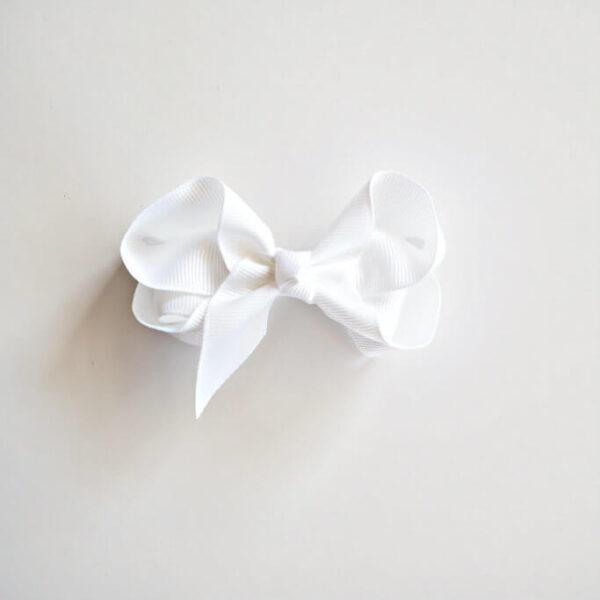 SHK Clip Bow White 1