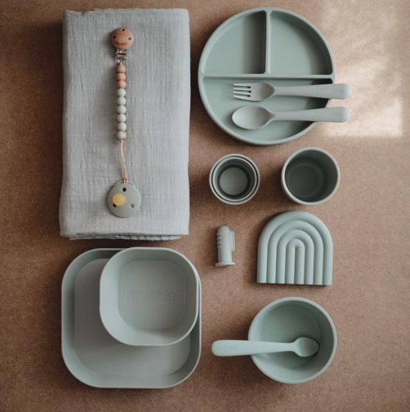 mushie fork spoon dinnerware 2