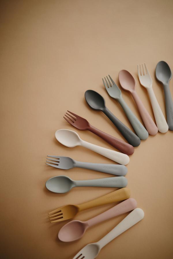 mushie fork spoon dinnerware 3