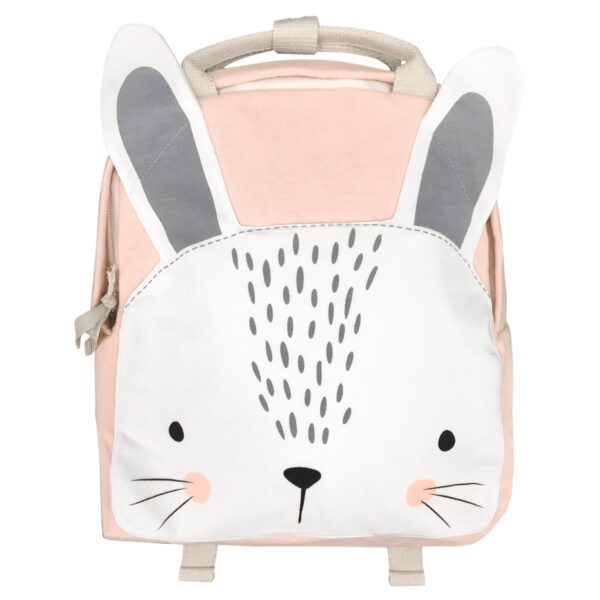 Backpack pink bunny