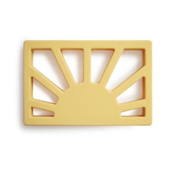 Teether Sun Muted Yellow