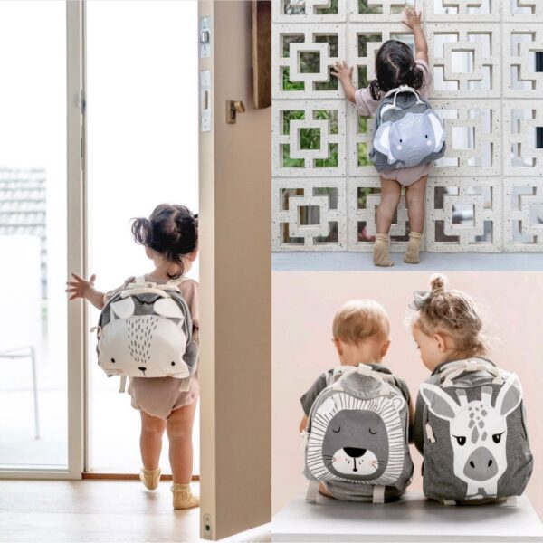 mister fly animal backpacks collage