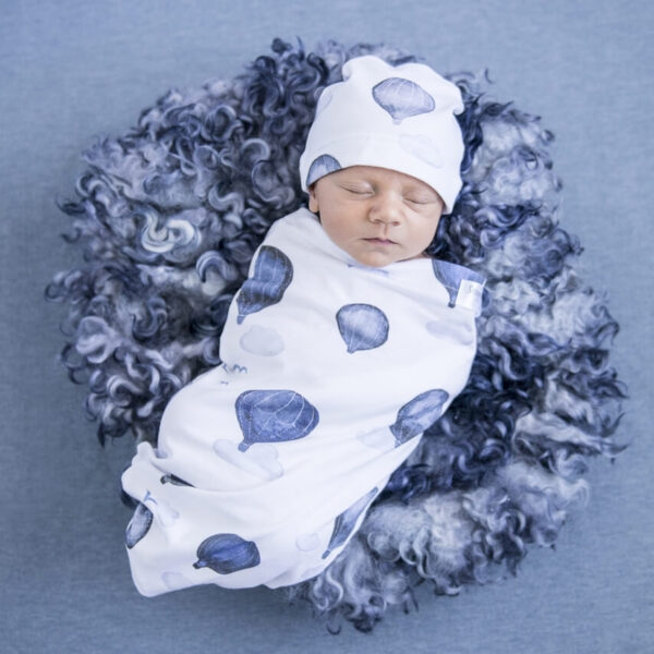 Swaddle Beanie Set Cloud Chaser 1