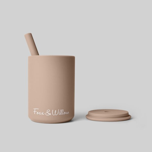 Foxx and Willow Straw Cup cinnamon 1