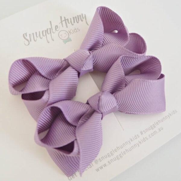 Bow Clip Lilac