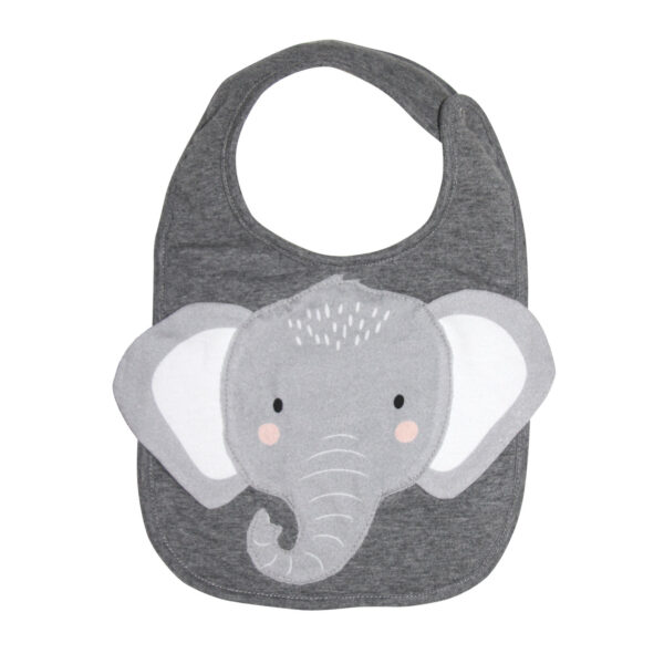 Elephant Face Bib 1 1