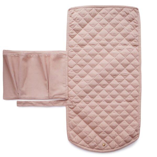 Mushie Changing pad blush 2