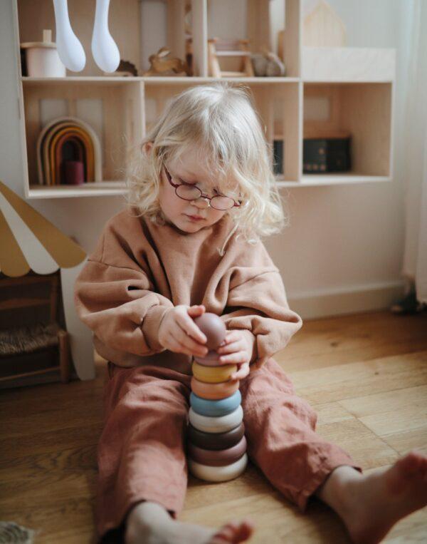 mushie stacking ring 2