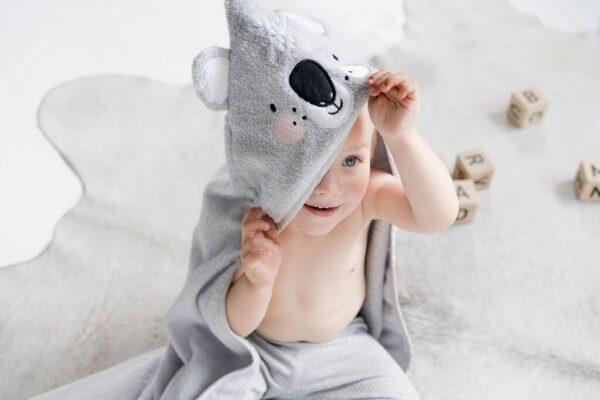 Hooded Towel Koala 1